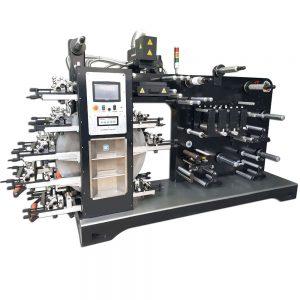 Impresora flexográfica tambor central 8 colores