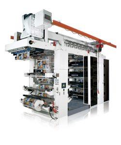 Impresora flexográfica tipo stacks
